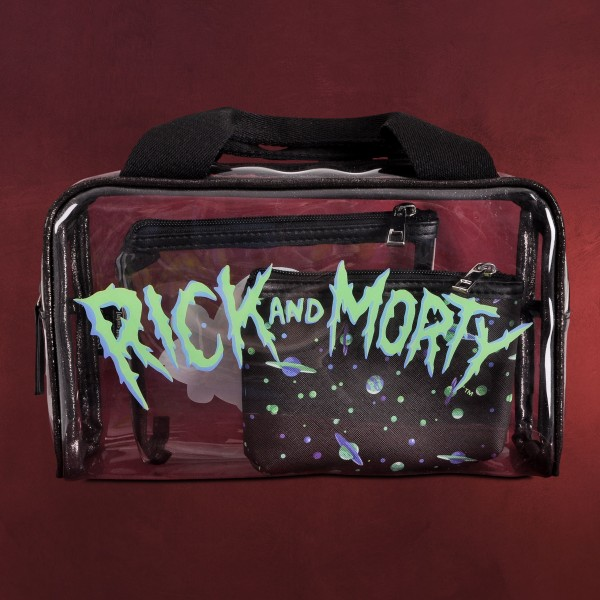 Rick and Morty - Space Cruiser Kulturtaschen 3er Set