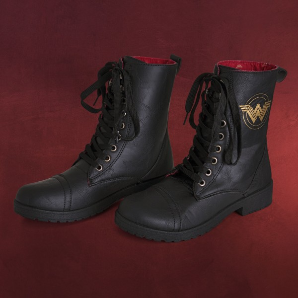Wonder Woman - Logo Boots Damen