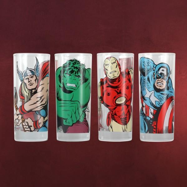 Avengers - Superhelden Gläserset