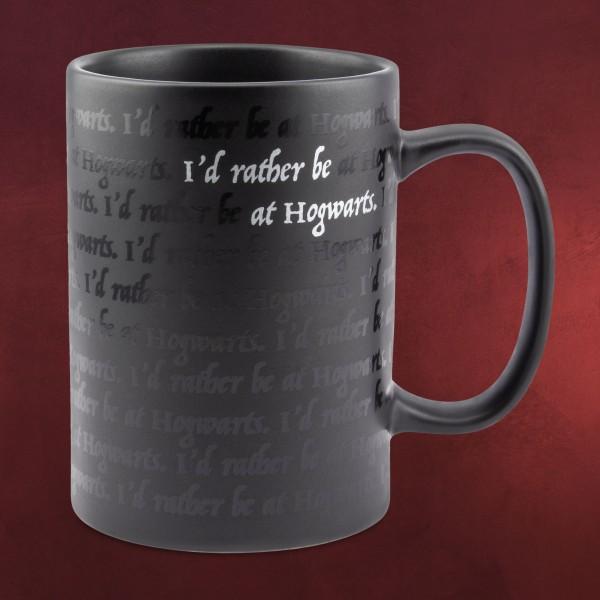 Harry Potter - Rather Be at Hogwarts Tasse