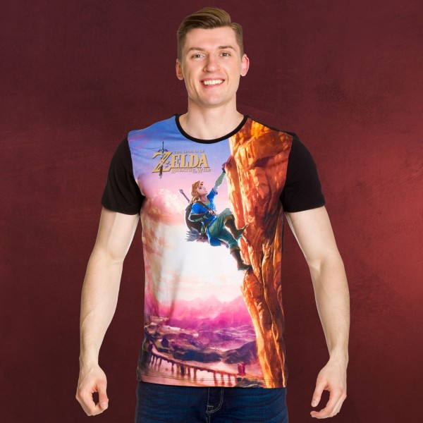 Zelda - Breath of the Wild Link Full Size T-Shirt