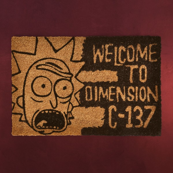 Rick and Morty - Dimension C-137 Fußmatte