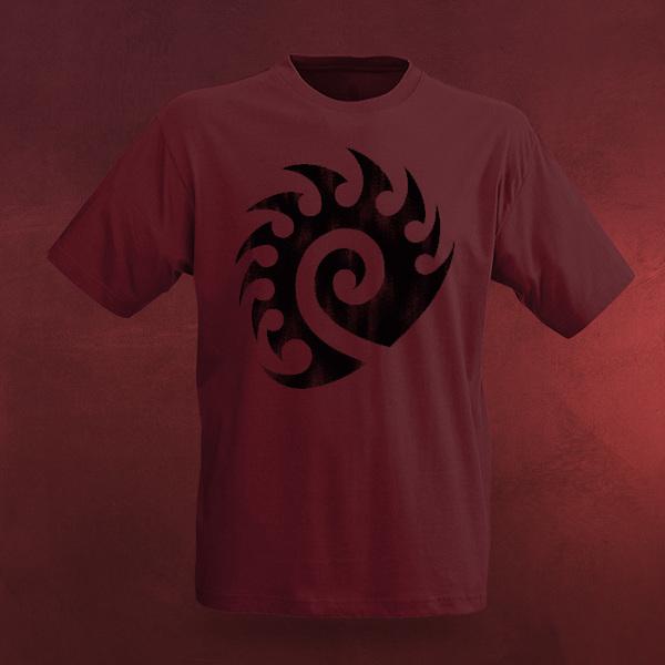 StarCraft II Zerg Vintage Logo T-Shirt