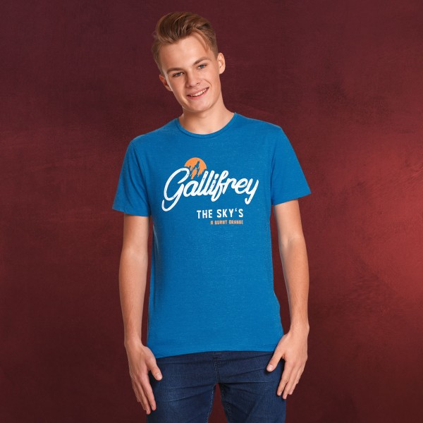 Doctor Who - Gallifrey T-Shirt blau