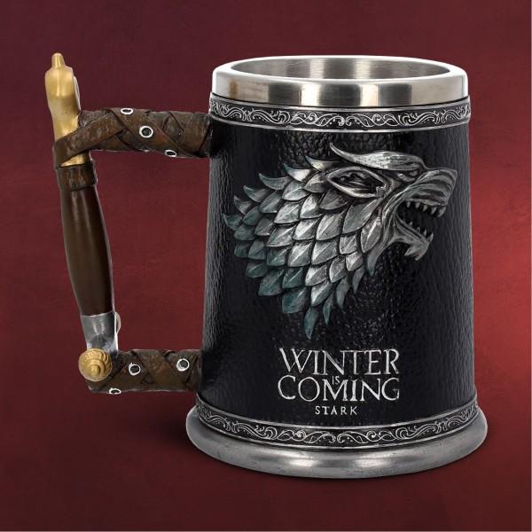 Game of Thrones - Schattenwolf Winter is Coming Krug deluxe