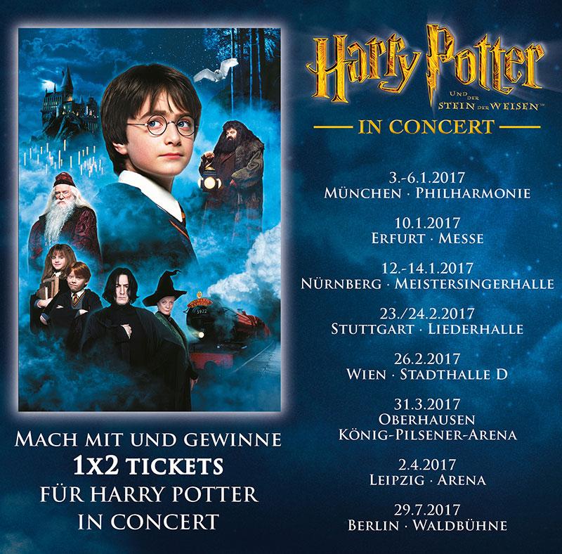 Harry Potter In Concert Gewinne 1 X 2 Tickets Elbenwald De