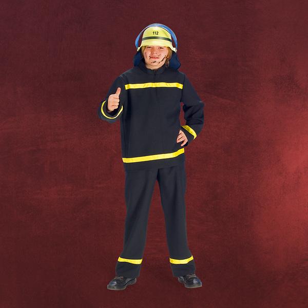 Feuerwehrmann - Kinderkostüm
