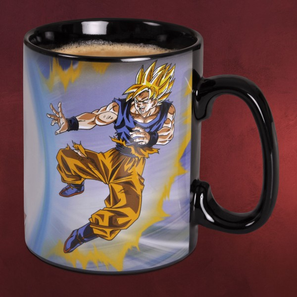Dragon Ball Z - Goku vs. Buu Thermoeffekt Tasse