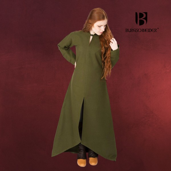 Mittelalter Kleid Ranwen oliv
