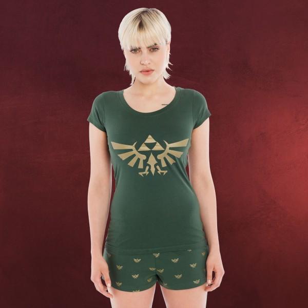 Zelda - Hyrule Shorty grün