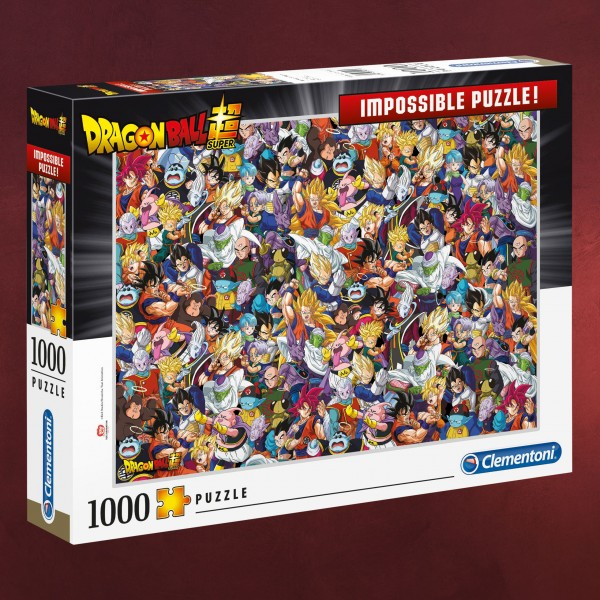 Dragon Ball - Impossible Characters Puzzle