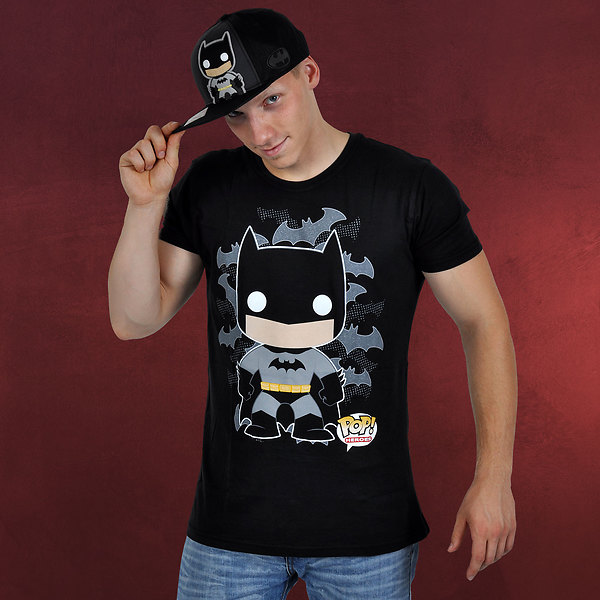 Batman - Pop Heroes Graphic Art T-Shirt