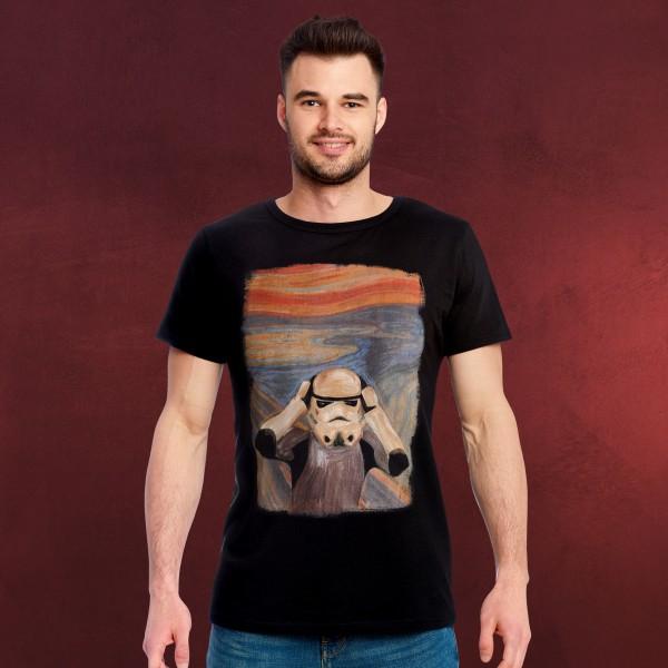 Original Stormtrooper Scream T-Shirt schwarz