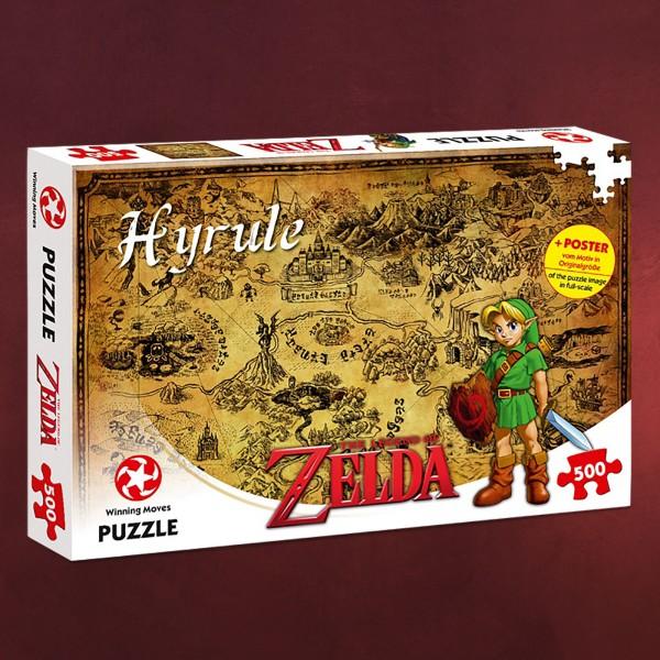 Zelda - Karte von Hyrule Puzzle