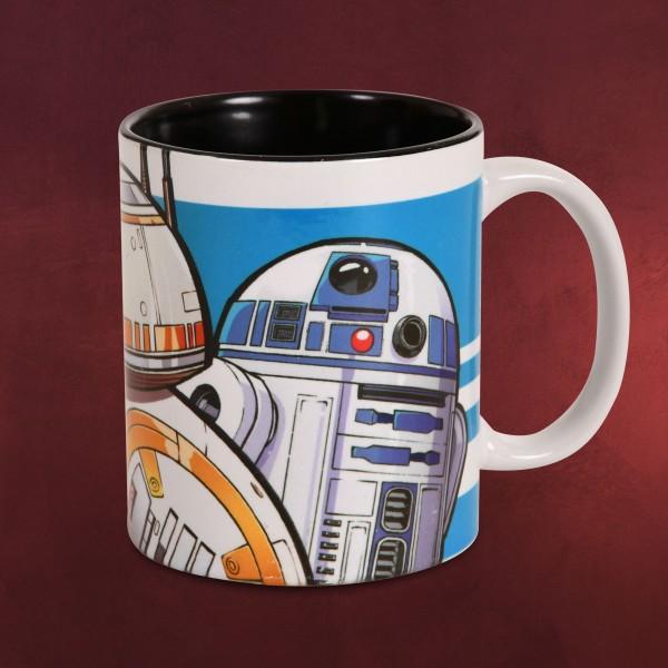 Star Wars - Droiden Trio Tasse