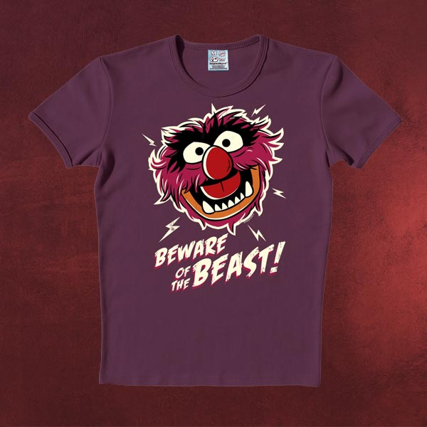 Muppets - Beware of the Beast purple