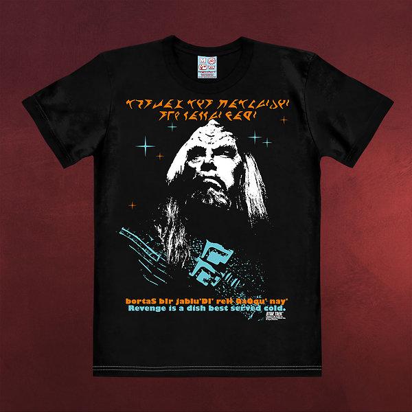 Star Trek - Rache der Klingonen T-Shirt schwarz
