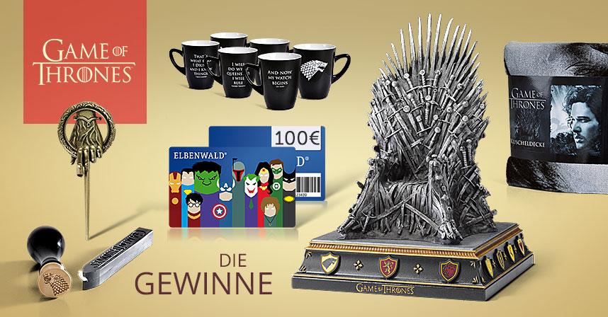 Game Of Thrones Gewinnspiel
