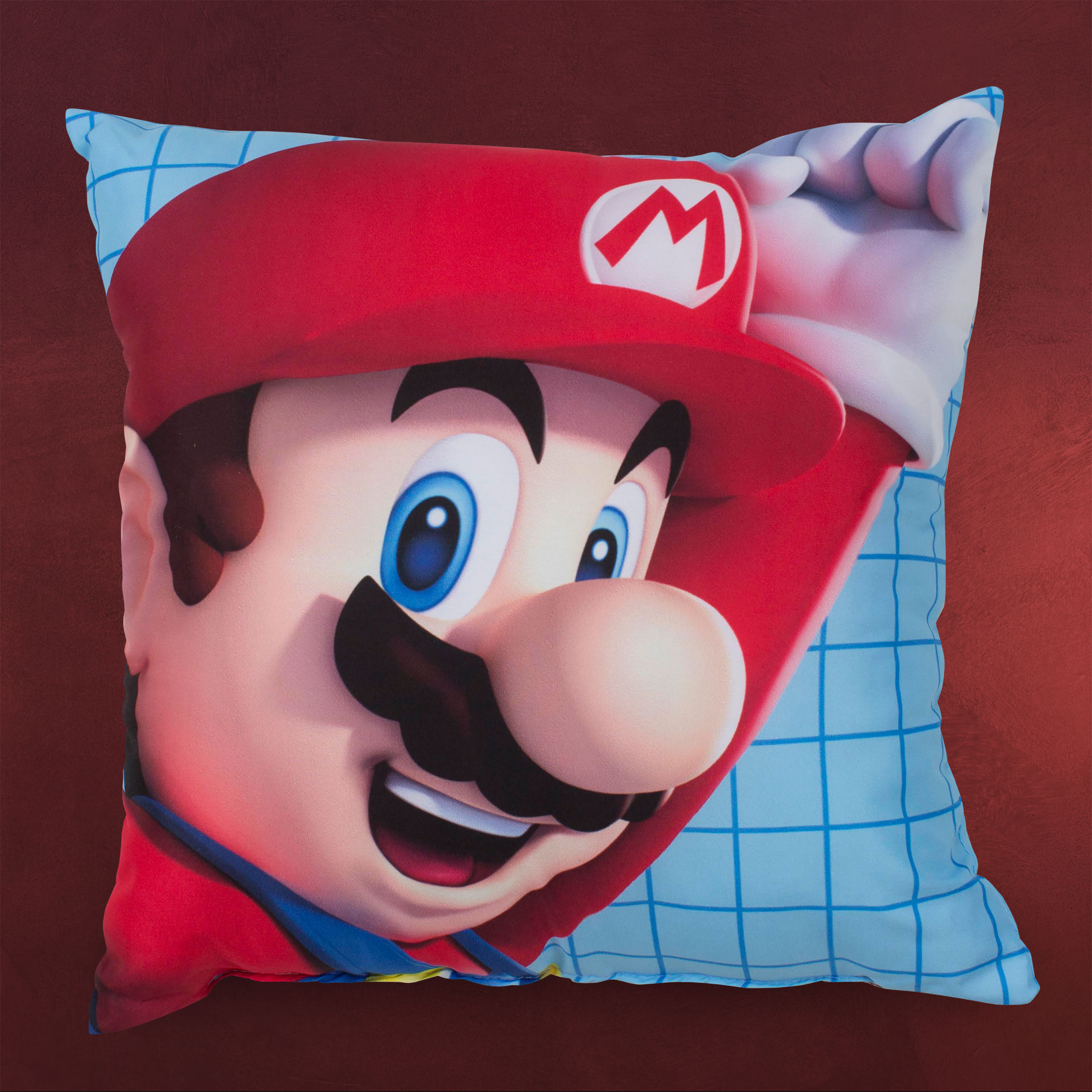 super mario k che wohnen kissen bettw sche elbenwald. Black Bedroom Furniture Sets. Home Design Ideas