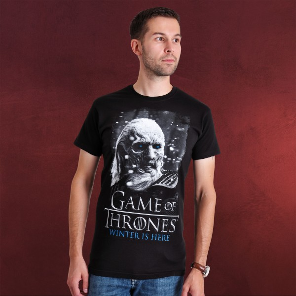Game of Thrones - White Walker T-Shirt schwarz