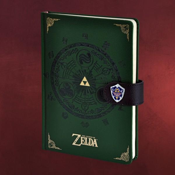Zelda - Gate of Time Premium Notizbuch A5