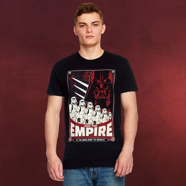 Star Wars - Join the Empire T-Shirt schwarz