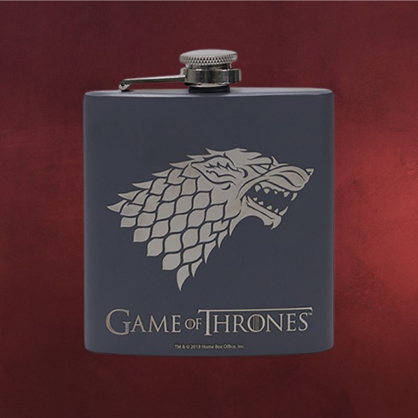 Game of Thrones - Stark Winter is Coming Flachmann