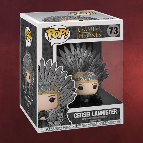Game of Thrones - Cersei Lannister mit Eisernem Thron Funko Pop Figur