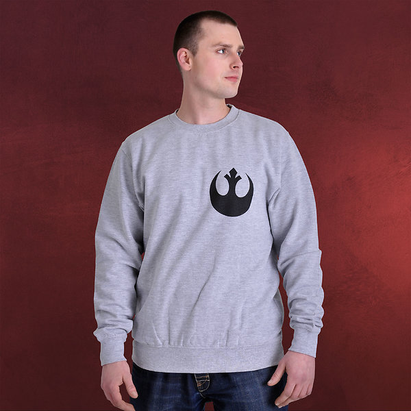 Star Wars - X-Wing Fighter Helm Sweater grau
