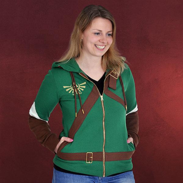 Zelda - Link Cosplay Girlie Kapuzenjacke
