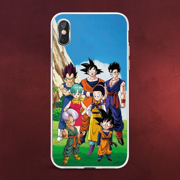 Dragon Ball Z - Family & Friends iPhone X / XS Handyhülle Silikon