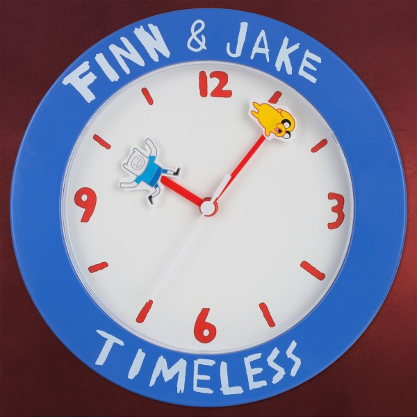 Adventure Time - Finn und Jake Wanduhr