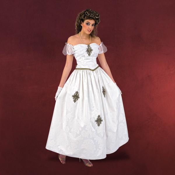 Kaiserin Sissi - Kostüm weiß