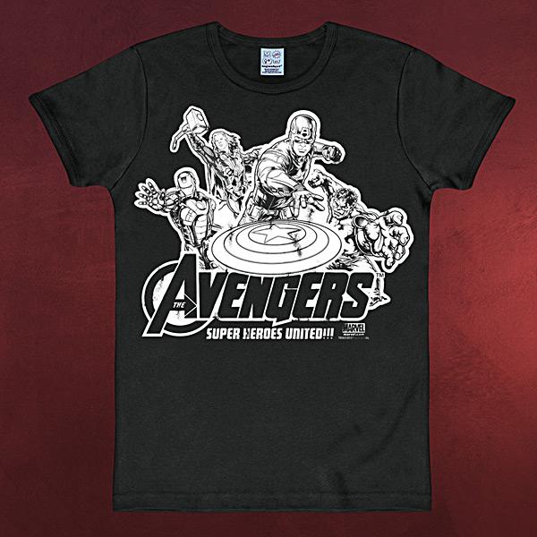 Avengers - Super Heroes United Marvel T-Shirt