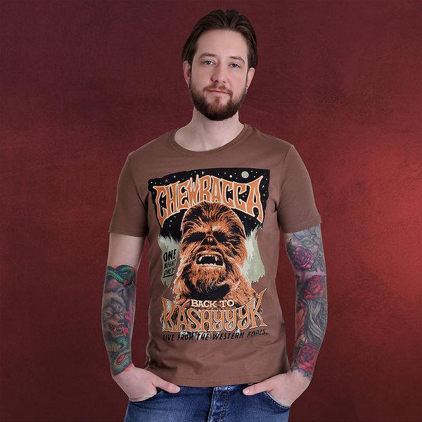 Star Wars - Chewbacca T-Shirt braun
