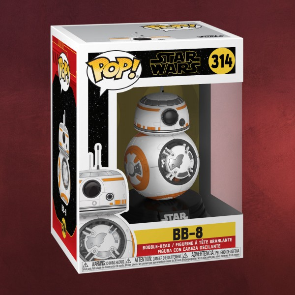 Star Wars - BB-8 Episode 9 Funko Pop Wackelkopf-Figur