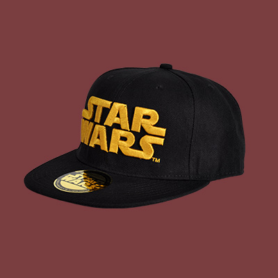 Star Wars - Golden Logo Snapback Cap