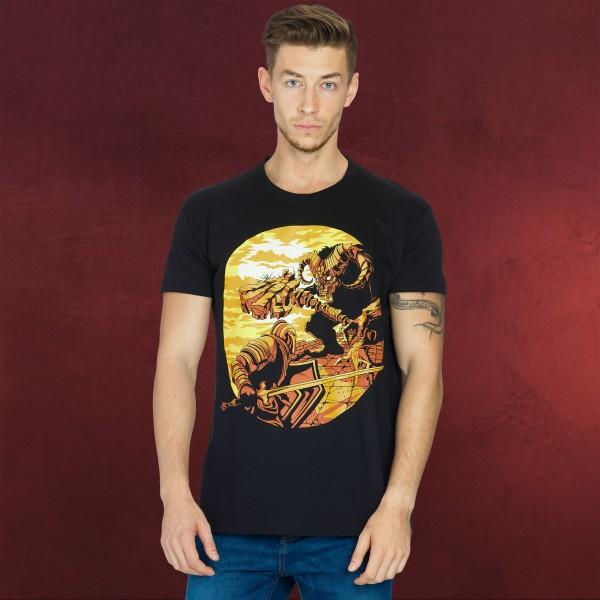 Dark Souls - Monster Axe T-Shirt schwarz