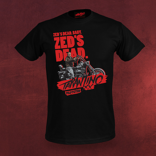 Pulp Fiction T-Shirt - Zed's Dead - Tarantino XX
