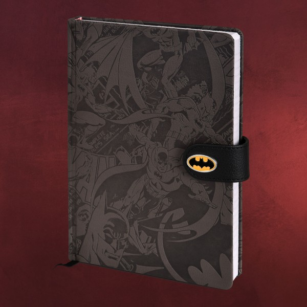 Batman - Comic Hero Premium Notizbuch A5