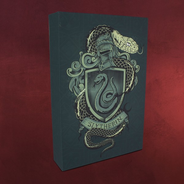 Harry Potter - Slytherin Wandbild mit Licht