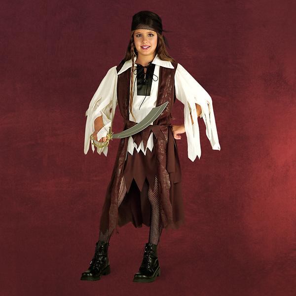Piratenkönigin - Kinderkostüm