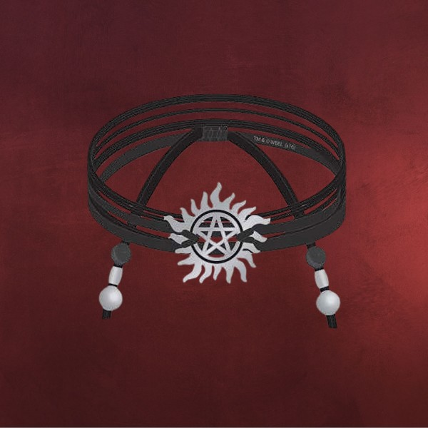 Supernatural - Anti Possession Armband schwarz