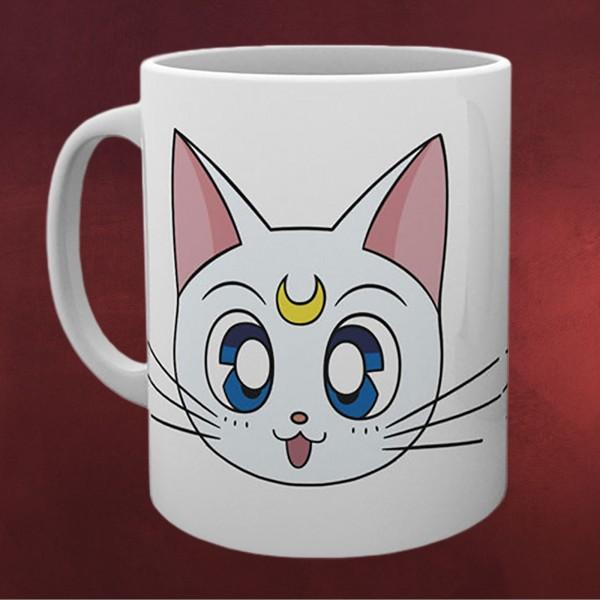 Sailor Moon - Luna und Artemis Tasse