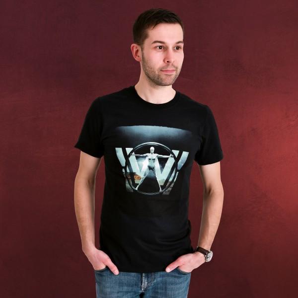 Westworld - Logo T-Shirt schwarz