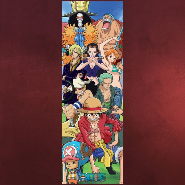 One Piece - Strohhutbande Türposter