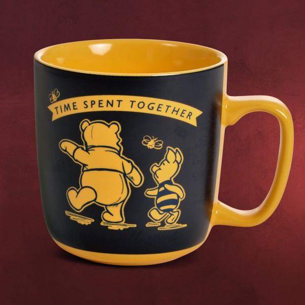 Winnie Puuh & Ferkel Thermoeffekt Tasse