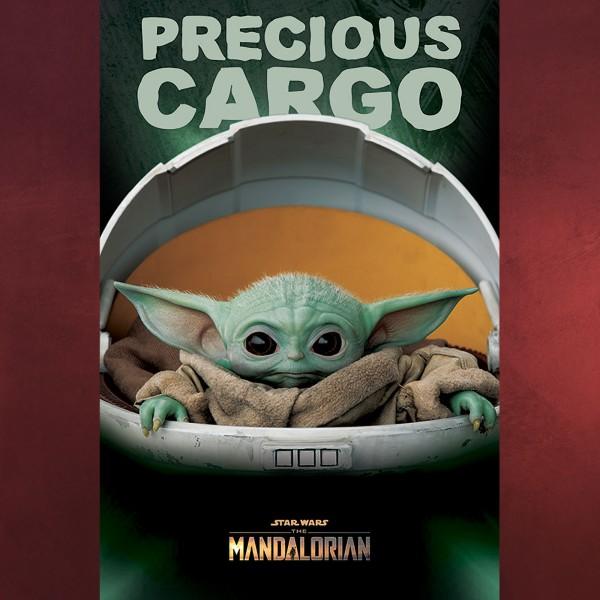 The Child Precious Cargo Maxi Poster - Star Wars The Mandalorian