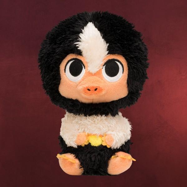 Baby Niffler schwarz-weiß Funko Supercute Plüsch Figur 16 cm - Phantastische Tierwesen