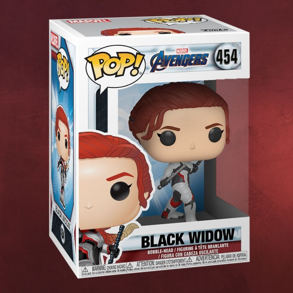Avengers - Black Widow Endgame Funko Pop Wackelkopf-Figur